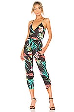 Lovers + Friends Emily Jumpsuit in Miami Floral
