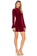 Lovers + Friends Simone Dress in Red