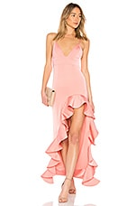 Lovers + Friends Ahamani Gown in Pink