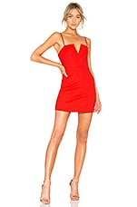 Lovers + Friends Wendy Mini in Red Hot
