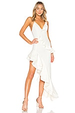 Lovers + Friends Riya Gown in White