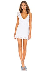 Lovers + Friends Kate Mini Dress in White