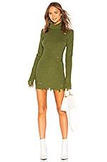 Lovers + Friends Keeney Dress in Army Green