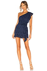 Lovers + Friends Seana Mini Dress in Deep Navy