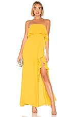 Lovers + Friends Jeadora Gown in Yellow