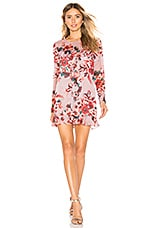 Lovers + Friends Bella Mini Dress in Holiday Floral