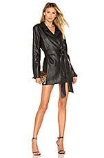 Lovers + Friends Kimber Blazer Mini Dress in Black