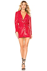 Lovers + Friends Peyton Dress in Cherry Red