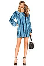 Lovers + Friends Delaney Mini Dress in Sea Blue