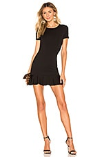 Lovers + Friends Shelly Mini Dress in Black