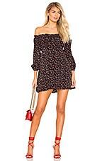 Lovers + Friends Britta Mini Dress in Lil Hearts