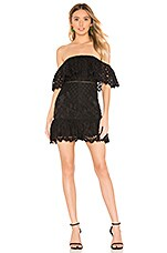 Lovers + Friends Vinnie Mini Dress in Black