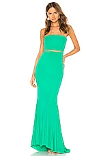 Lovers + Friends Pryce Gown in Green