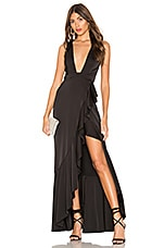 Lovers + Friends Prudence Gown in Black