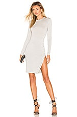 Lovers + Friends Beckie Dress in Heather Grey