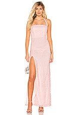 Lovers + Friends Daughter Gown in Light Pink