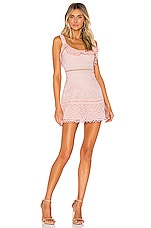 Lovers + Friends Happy Hour Dress in Pink