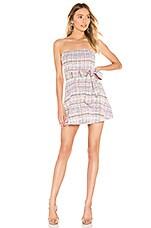 Lovers + Friends Rhia Mini Dress in Cream Multi