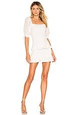 Lovers + Friends Kathleen Mini Dress in White