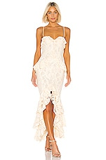 Lovers + Friends Melissa Gown in Nude