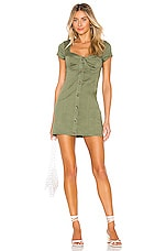 Lovers + Friends Kaili Dress in Green
