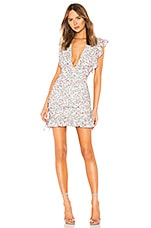Lovers + Friends Apollo Mini Dress in Chateau Floral