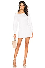 Lovers + Friends Frenchie Mini Dress in White