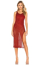 Lovers + Friends Fiona Dress in Red