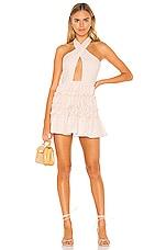 Lovers + Friends Bryn Mini Dress in Strawberry Lemonade
