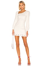 Lovers + Friends Andy Mini Dress in Ivory