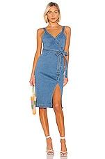 Lovers + Friends Ember Midi Dress in True Blue