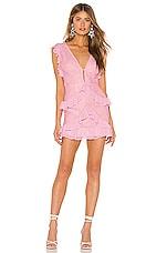 Lovers + Friends Kurt Mini Dress in Baby Pink