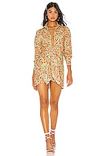 Lovers + Friends Aja Mini Dress in Summer Field Floral