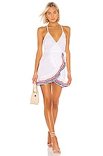 Lovers + Friends Gigi Wrap Dress in White