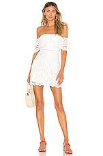Lovers + Friends Vinnie Mini Dress in White