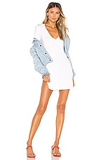 Lovers + Friends Carlo Shirt Dress in White