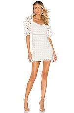 Lovers + Friends Arden Mini Dress in White