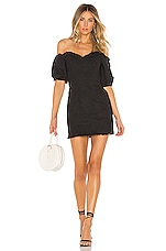 Lovers + Friends Rhi Mini Dress in Black