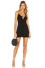 Lovers + Friends Mindy Mini Dress in Black
