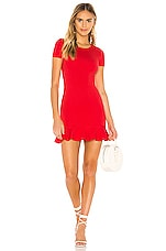 Lovers + Friends Shelly Mini Dress in Red