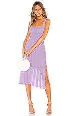 Lovers + Friends Arden Midi Dress in Lilac Purple