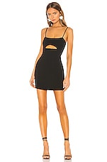 Lovers + Friends Enzo Mini Dress in Black