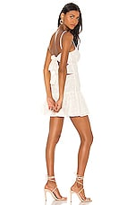 Lovers + Friends Caesar Mini Dress in White