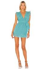 Lovers + Friends Sierra Mini Dress in Teal