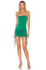 Lovers + Friends Fitch Mini Dress in Pine Green