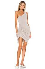 Lovers + Friends Sharon Mini Dress in Taupe