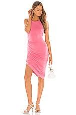 Lovers + Friends Eva Midi Dress in Pink