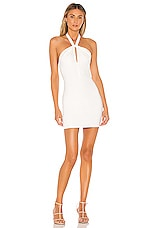Lovers + Friends Mahira Mini Dress in White
