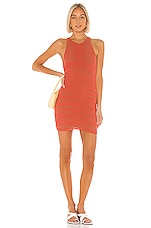Lovers + Friends Lumi Mini Dress in Coral Red