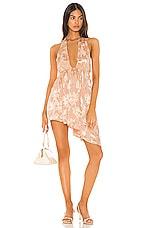 Lovers + Friends Zoya Mini Dress in Blush Pink